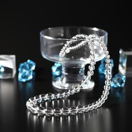 白水晶ネックレス